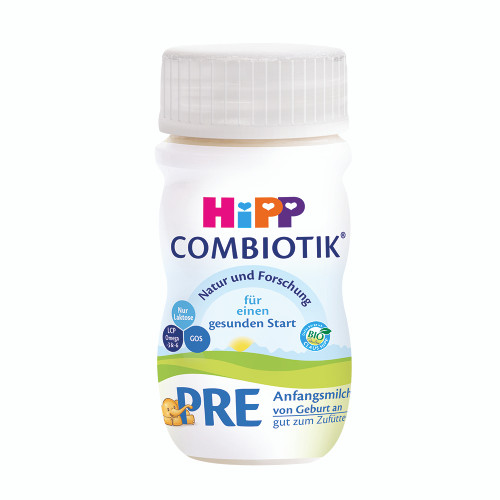HiPP 1 Organic Combiotic Infant Liquid Milk 90ml (Photo for reference only) | 喜寶有機嬰兒配方水奶 90毫升 (圖片只供參考)