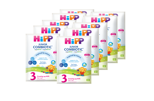 HiPP 3 Junior Combiotic Growing-up mlik 17.5g (Photo for reference only) | HiPP喜寶雙益幼兒成長奶粉 17.5克 (圖片只供參考)