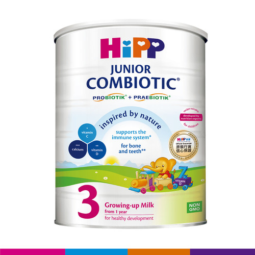 HiPP 3 Junior Combiotic Growing-up Milk 800g (Photo for reference only) | HiPP喜寶雙益幼兒成長奶粉(3號) 800克 (圖片只供參考)
