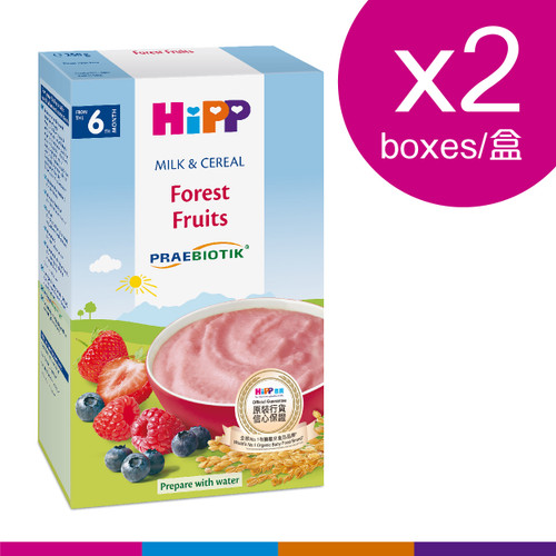 HiPP 喜寶奶糊 - 森林水果 (250克) 2盒 | HiPP Milk Pap - Forest Fruits (250g) 2pcs