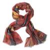 Wharton Linen/Wool Shawl