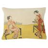 "Kyoto Velvet Cushion 12""x16"""