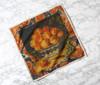 Peaches Dinner Napkins Set of Four
