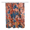 Marbled Shower Curtain