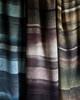 Stripe Wool/Viscose Scarf Blue
