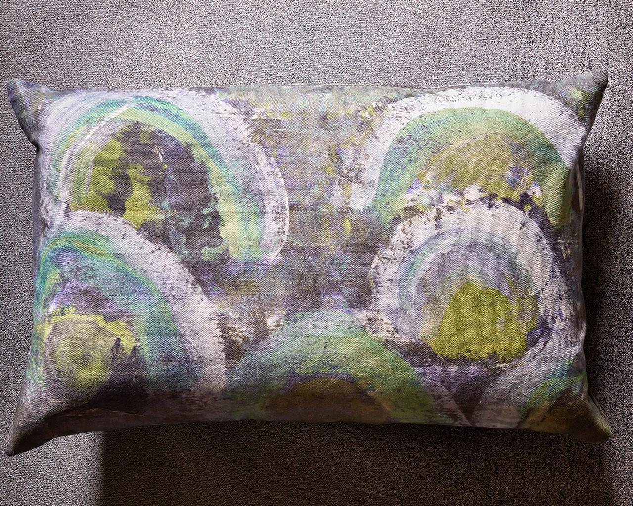 Eclipse Decorative Pillow Sage Sirensongcuriosities Com