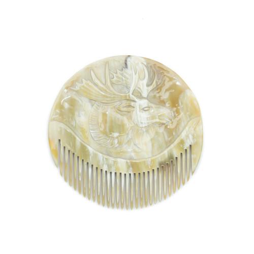 Moose Plaque Comb