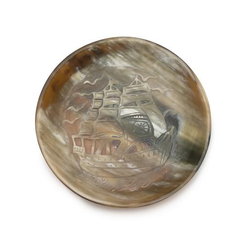 Ship Dish Round