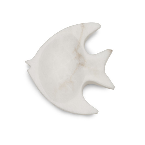 Angel Fish Alabaster Dish