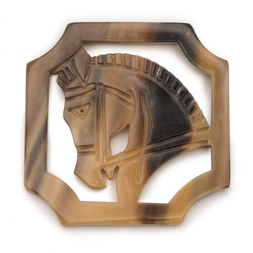Equestrian Brooch