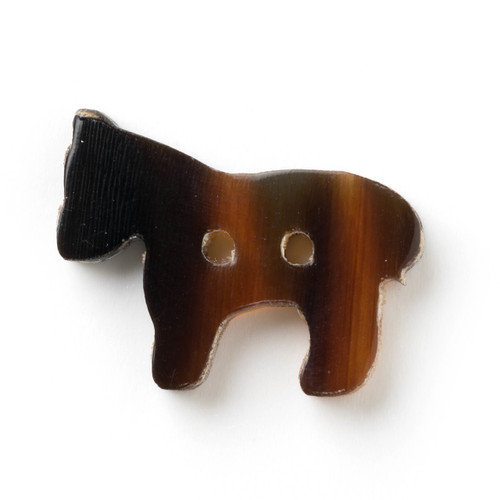 Horse Buttons Set of 4