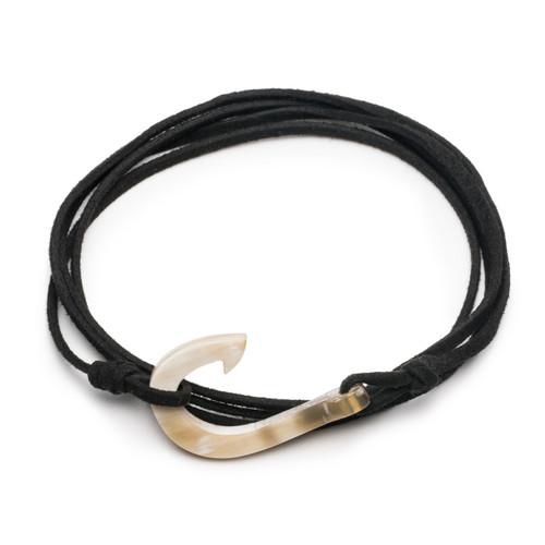 "Hook Wrap Bracelet - 1.5"" Clasp"