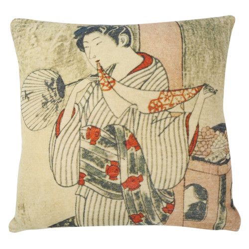 Kyoto Velvet Cushion