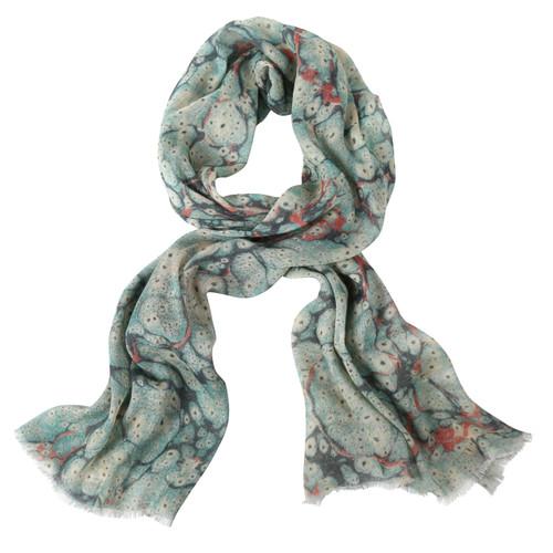 Austen Linen/Wool Shawl