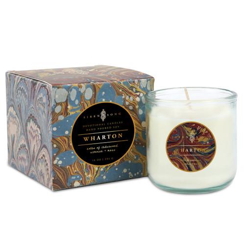 Wharton Candle (Armoise,Cedarwood, Moss)