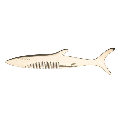 Shark Brass Comb