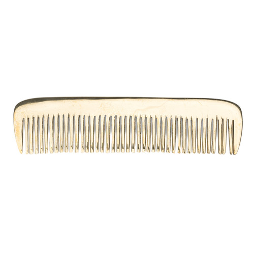 Large Basic Brass Comb