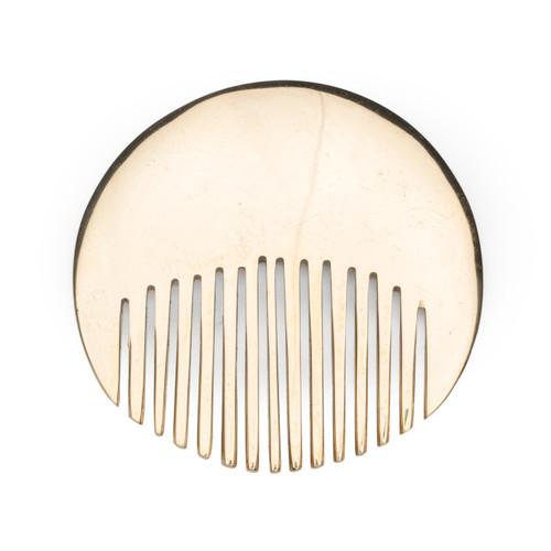 Circle Brass Comb