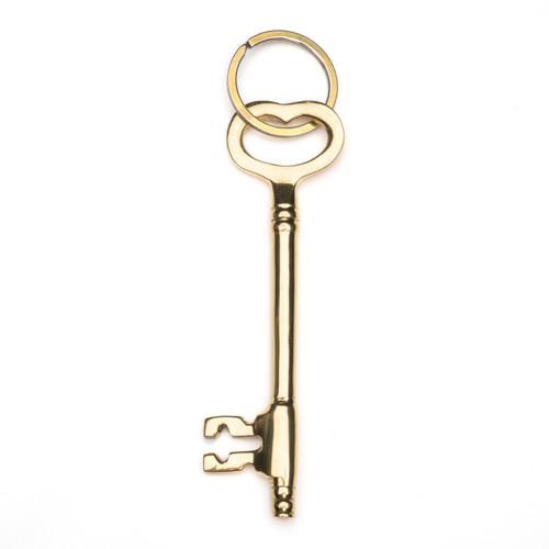 Brass Key Keychain