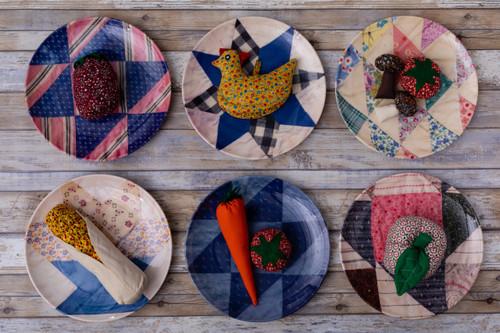 Nebraska Dinner Plates Set of Four