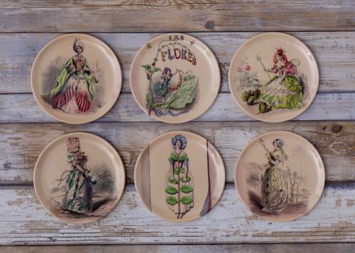 Las Flores Coaster/Appetizer Set