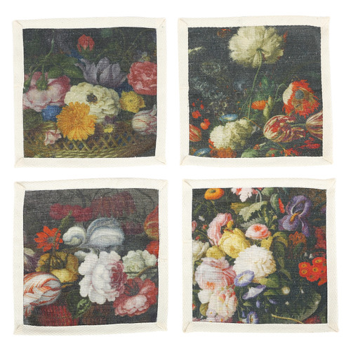 Bouquet Cocktail Napkins Set of Four