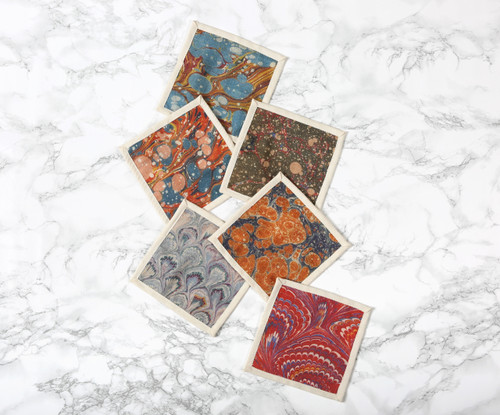Library Cocktail Napkins Set of Six