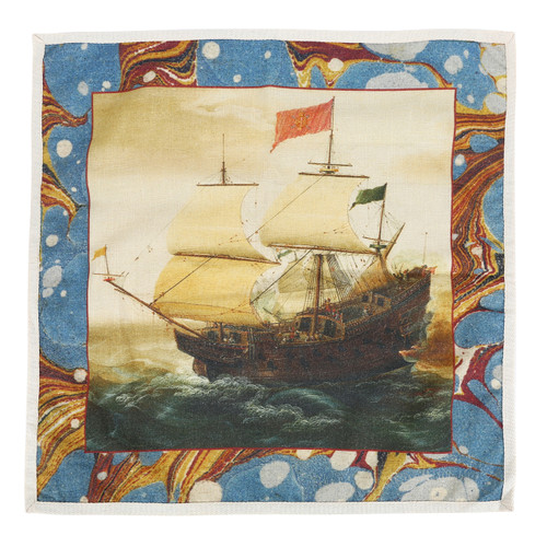 Galleon Dinner Napkins Set of Four