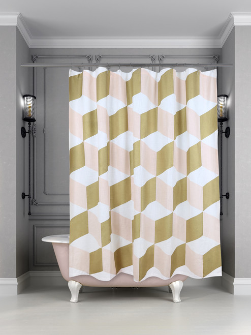 Palazzo Shower Curtain Shell