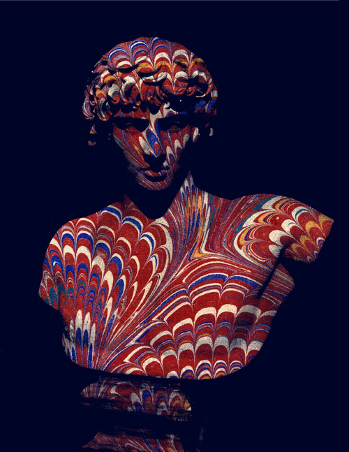 "Antinous Red Print 16""x20"""