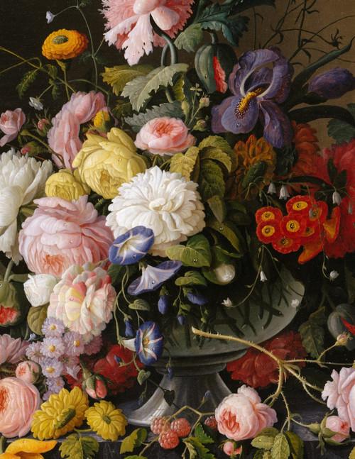 """Bouquet Print 11""""x14"""""""