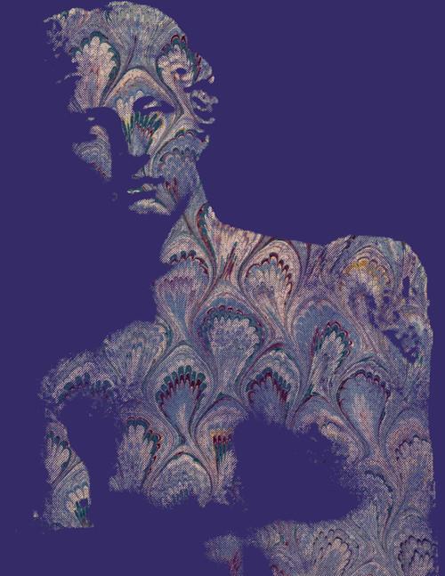 """Venus Plum Print 16""""x20"""""""