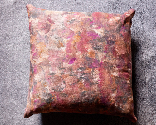 Palette Decorative Pillow Rust