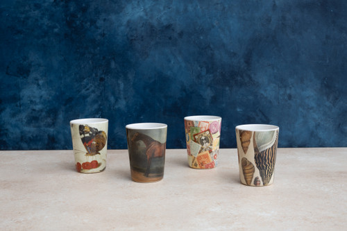 Conch Tumblers Set of 4