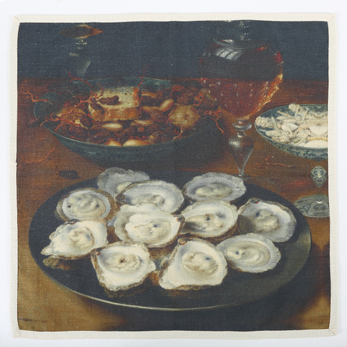 Oysters Dinner Napkins Set of 4
