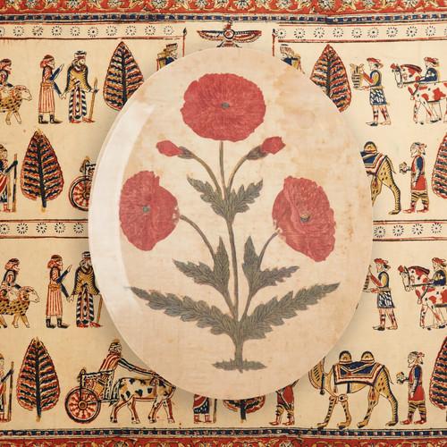 Mughal Oval Tray