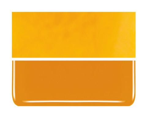 Bullseye Glass Pumpkin Orange, Dbl-rolled 000321-0030-F-1010