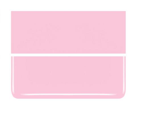 Bullseye Glass Petal Pink, Dbl-rolled 000421-0030-F-1010