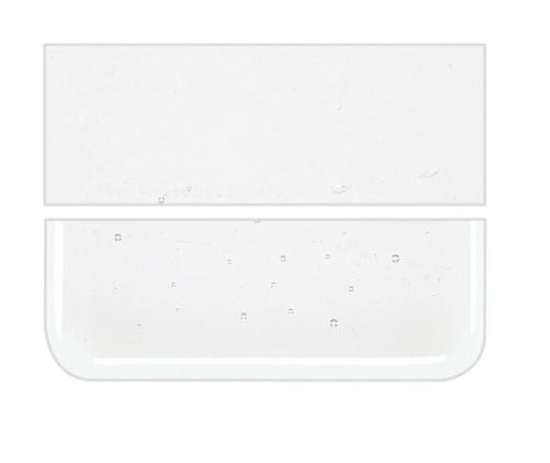 Bullseye Glass Reactive Ice Clear, Dbl-rolled 001009-0030-F-1010