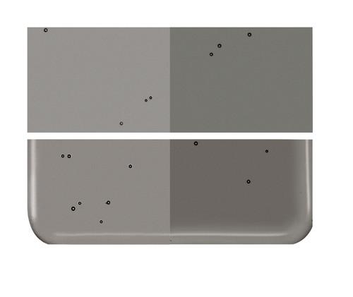 Bullseye Glass Charcoal Gray, Dbl-rolled 001129-0030-F-1010