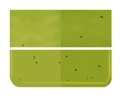 Bullseye Glass Pine Green, Dbl-rolled 001241-0030-F-1010