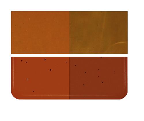 Bullseye Glass Carnelian, Dbl-rolled 001321-0030-F-1010