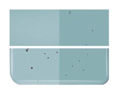 Bullseye Glass Sea Blue, Dbl-rolled 001444-0030-F-1010
