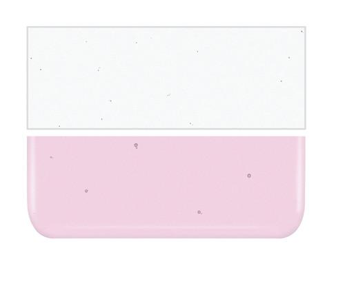 Bullseye Glass Ruby Pink Striker, Dbl-rolled 001831-0030-F-1010