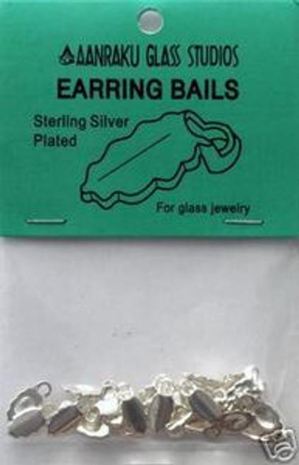 AANRAKU Silver Plated Earring Jewelry Bails