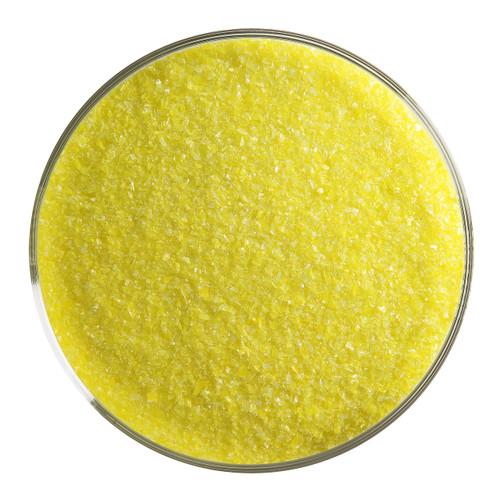 Bullseye Glass Canary Yellow Opal, Frit, Fine, 5 oz jar 000120-0001-F-OZ05