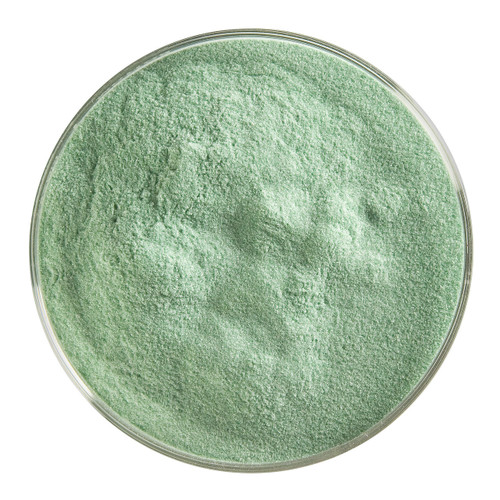 Bullseye Glass Aventurine Green Transparent, Frit, Powder, 5 oz jar 001112-0008-F-OZ05