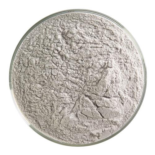 Bullseye Glass Charcoal Gray Transparent, Frit, Powder, 5 oz jar 001129-0008-F-OZ05
