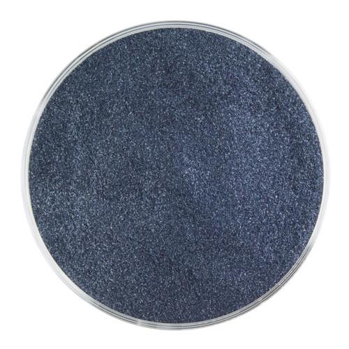 Bullseye Glass Aventurine Blue Transparent, Frit, Powder, 5 oz jar 001140-0008-F-OZ05