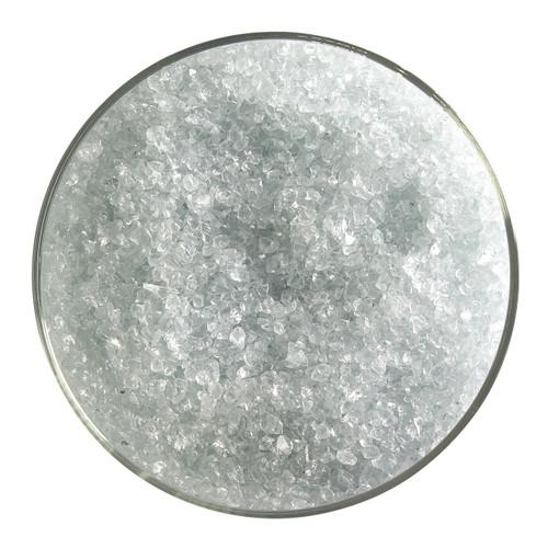 Bullseye Glass Juniper Blue Transparent Tint, Frit, Medium, 5 oz jar 001806-0002-F-OZ05